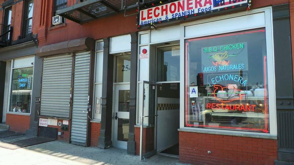 Lechonera La Isla | restaurant | 256 E 125th St, New York, NY 10035, USA | 2129961972 OR +1 212-996-1972