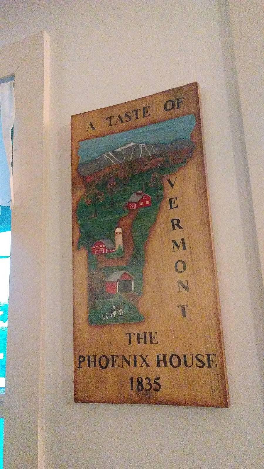 Phoenix House Restaurant & Bakery   restaurant   7 Potato Hill Rd, Enosburg Falls, VT 05450, USA   8029338400 OR +1 802-933-8400