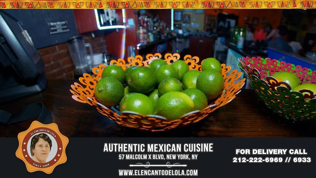 el encanto de lola | restaurant | 57 Malcolm X Blvd, New York, NY 10026, USA | 2122226969 OR +1 212-222-6969