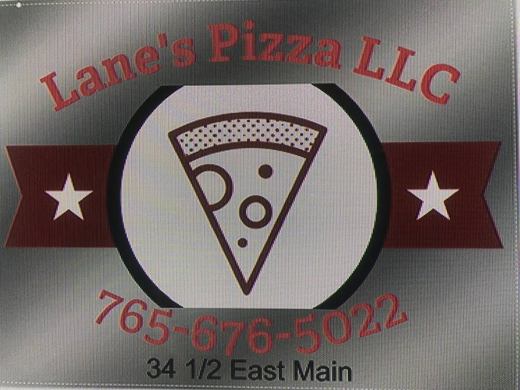 Lanes Pizza LLC | meal takeaway | 34 1/2 E Main St, Jamestown, IN 46147, USA | 7656765022 OR +1 765-676-5022