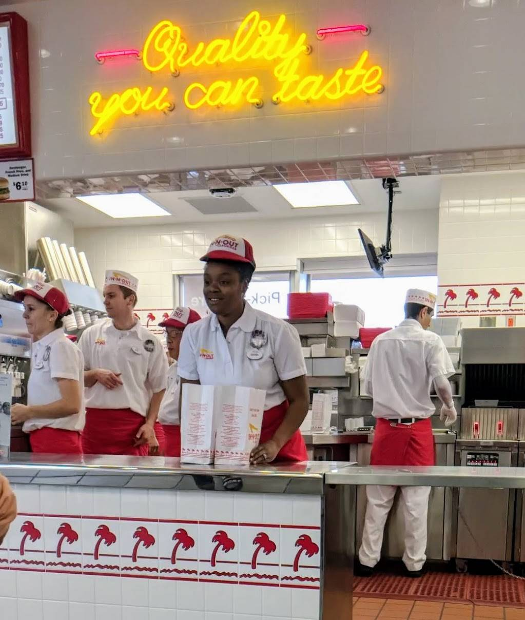 In-N-Out Burger - Restaurant | 720 Admiral Callaghan Ln, Vallejo, CA