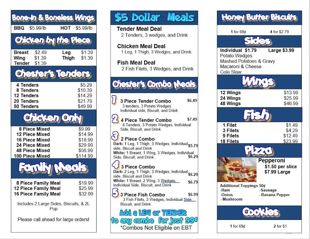 Zerkas Liquor and Chesters Chicken | meal takeaway | 2605 Corunna Rd, Flint, MI 48503, USA | 8103420515 OR +1 810-342-0515
