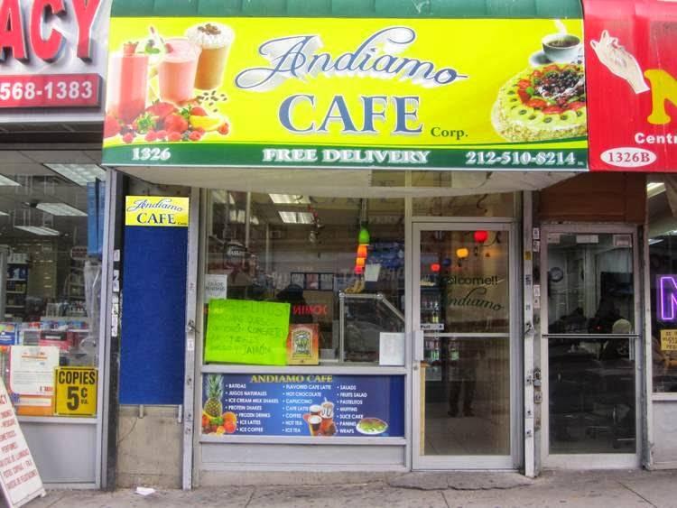 Andiamo Cafe | cafe | 1326 St Nicholas Ave, New York, NY 10033, USA | 2125108214 OR +1 212-510-8214