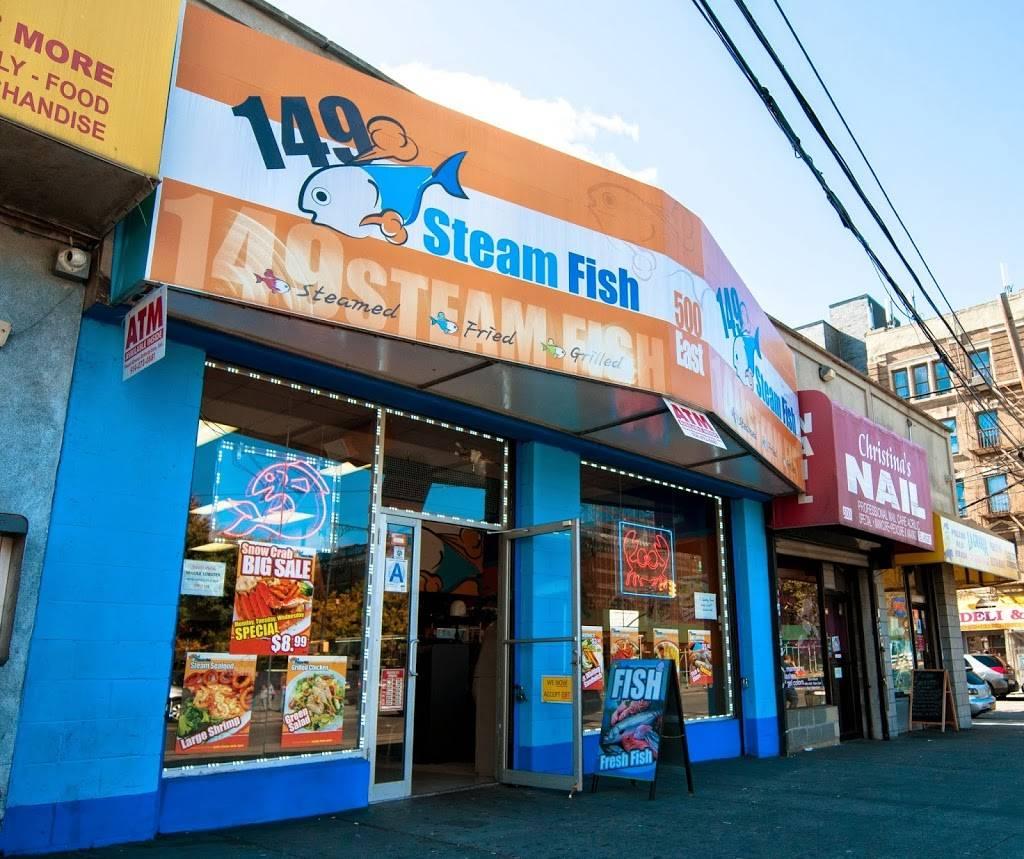149 Steam Fish   restaurant   500 E 149th St, Bronx, NY 10455, USA   7182927997 OR +1 718-292-7997