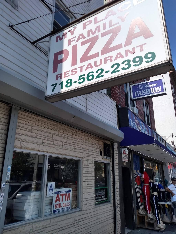 My Place Family Pizza | restaurant | 240 E 198th St, Bronx, NY 10458, USA | 7185622399 OR +1 718-562-2399