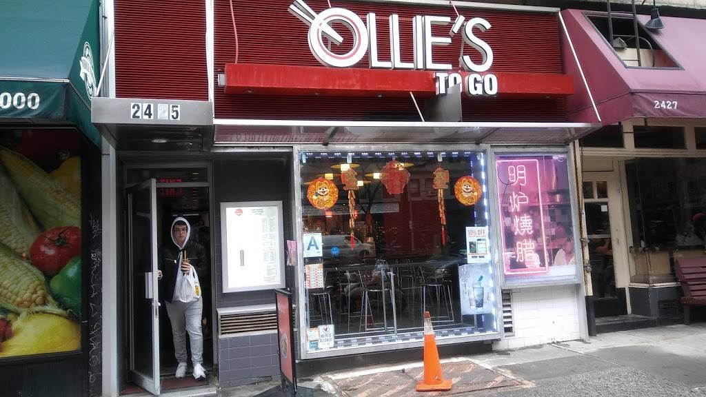 Ollies To Go | meal delivery | 2425 Broadway, New York, NY 10024, USA | 2128772298 OR +1 212-877-2298