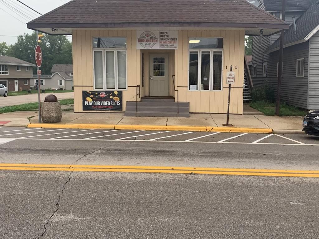 Burlington Grill   restaurant   125 S Main St, Burlington, IL 60109, USA   8476839444 OR +1 847-683-9444