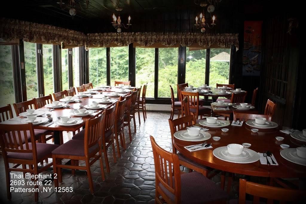 Thai Elephant 2   restaurant   2693 NY-22, Patterson, NY 12563, USA   8453196295 OR +1 845-319-6295