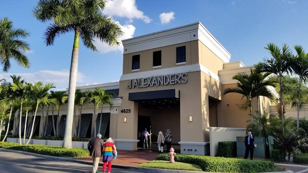 J Alexander S Restaurant 4625 Pga Boulevard Palm Beach Gardens Fl 33418 Usa