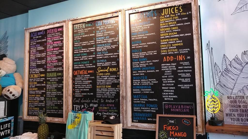 Playa Bowls - Restaurant | 28 S Park St, Montclair, NJ 07042
