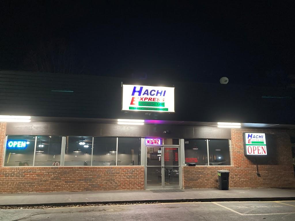 Hachi Express Steak & Seafood | restaurant | 608 E Main St, Walhalla, SC 29691, USA | 8646387080 OR +1 864-638-7080