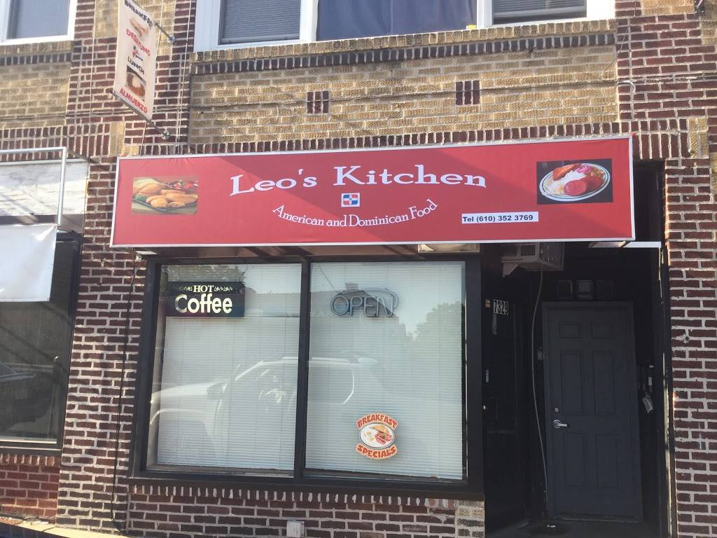 Leos kitchen | restaurant | 7329 West Chester Pike, Upper Darby, PA 19082, USA | 6103523769 OR +1 610-352-3769