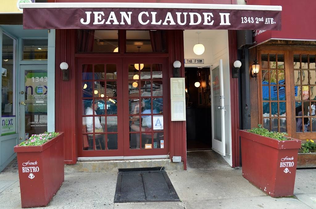 Jean Claude 2 | restaurant | 1343 2nd Ave, New York, NY 10021, USA | 2122493400 OR +1 212-249-3400