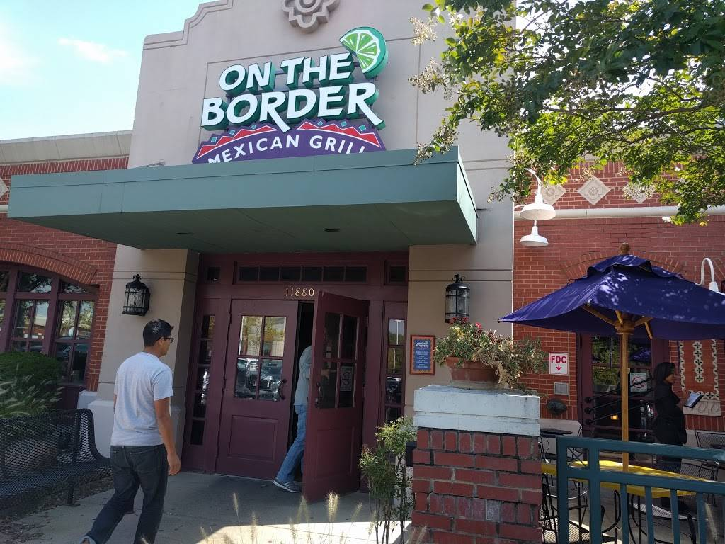 On The Border Mexican Grill & Cantina   meal takeaway   11880 Spectrum Center, Reston, VA 20190, USA   5714857929 OR +1 571-485-7929