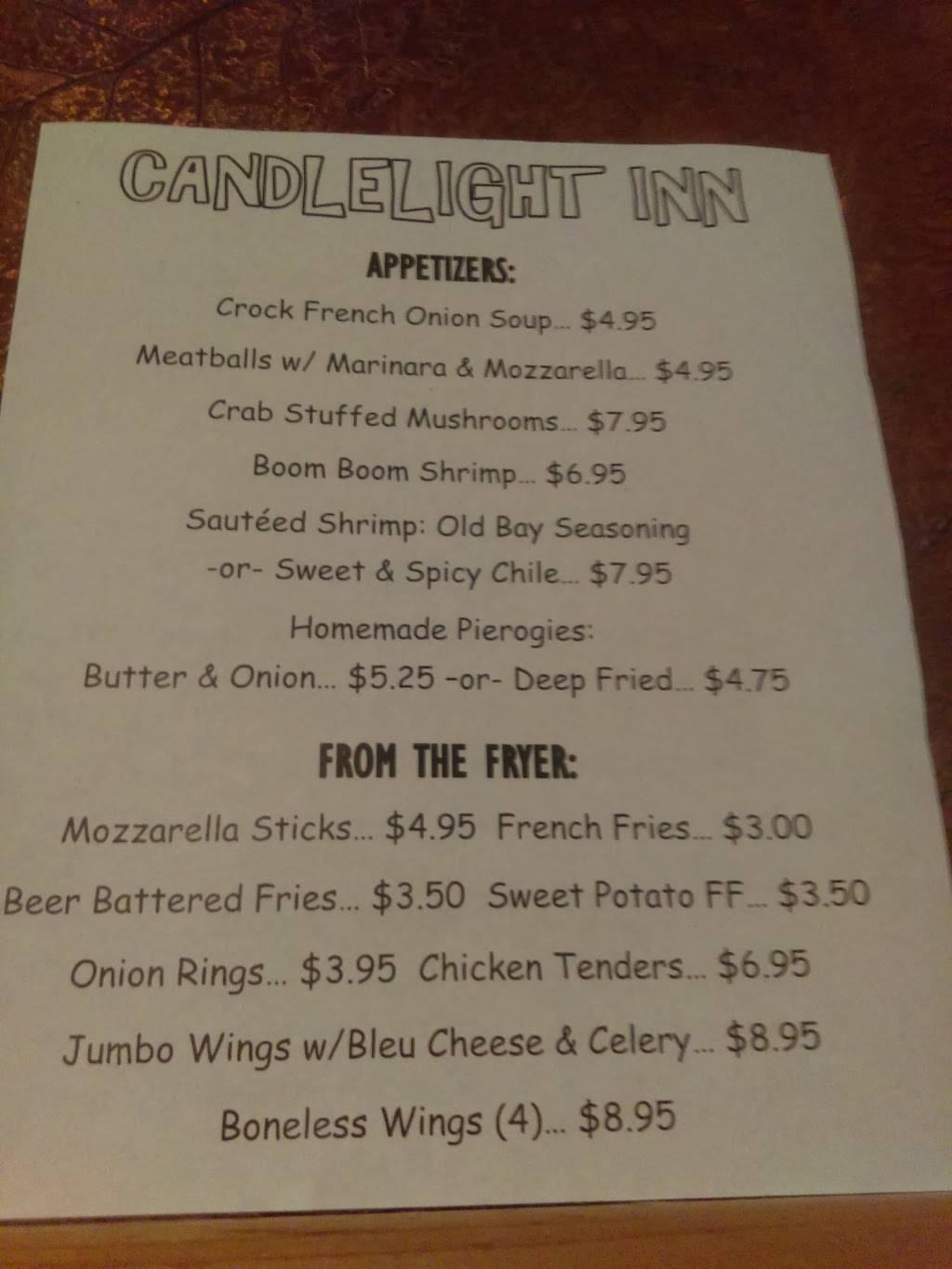 Candlelight Inn & Restaurant | restaurant | PA-374, Union Dale, PA 18470, USA | 5706794000 OR +1 570-679-4000