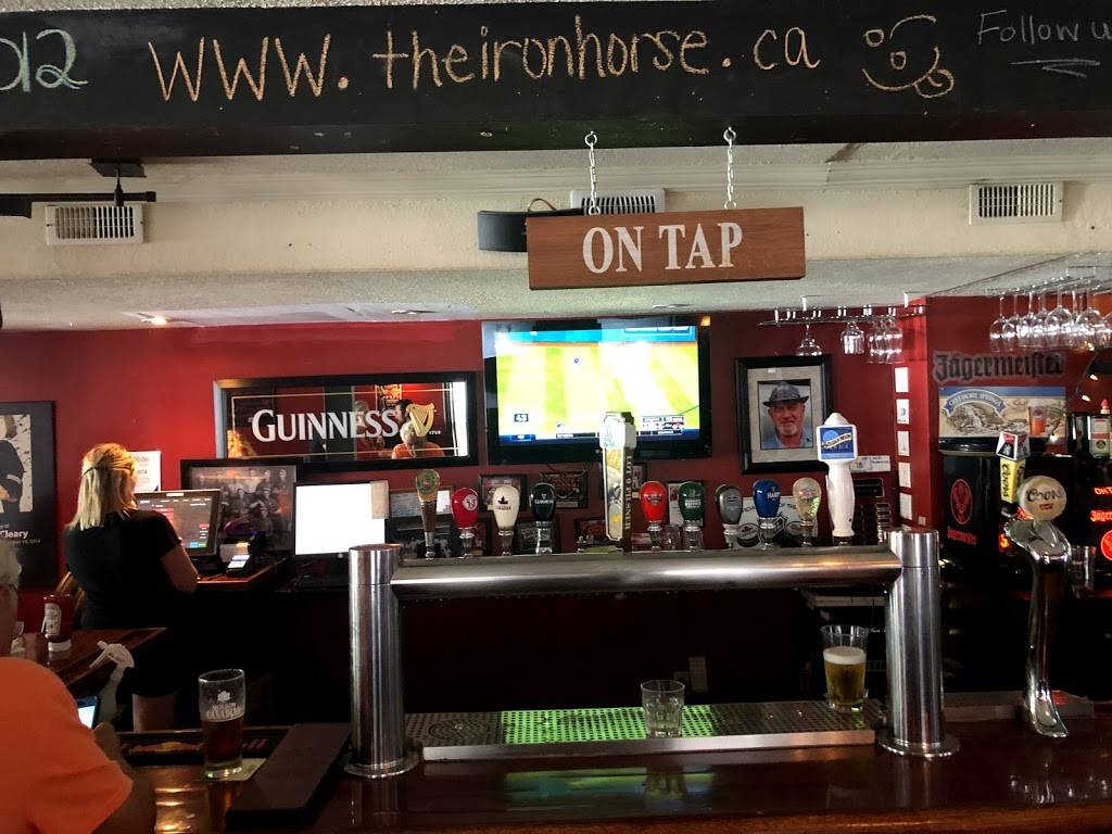 Iron Horse Bar & Grill | restaurant | 1 Church St, Cookstown, ON L0L 1L0, Canada | 7054582500 OR +1 705-458-2500