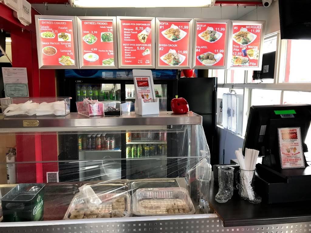 Casse-Croûte Checkers cuisine libanaise a beauport | restaurant | 2346 Avenue Larue, Québec, QC G1C 1K9, Canada | 4186602223 OR +1 418-660-2223