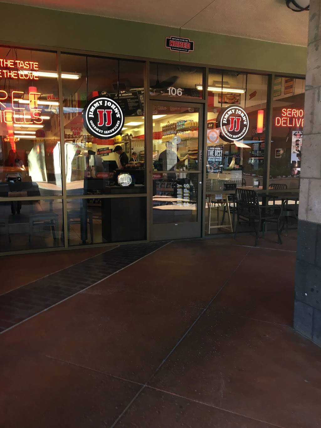 Jimmy Johns | meal delivery | 3930 S Bristol St Ste. 106, Santa Ana, CA 92704, USA | 7145404040 OR +1 714-540-4040