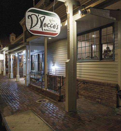 DRoccos: An Italian Joint | restaurant | 301 Mill St, Occoquan Historic District, VA 22125, USA | 5715723087 OR +1 571-572-3087