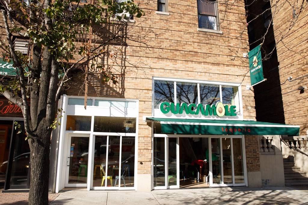 Guacamole Taqueria   restaurant   5025 Broadway, New York, NY 10034, USA   6469644481 OR +1 646-964-4481
