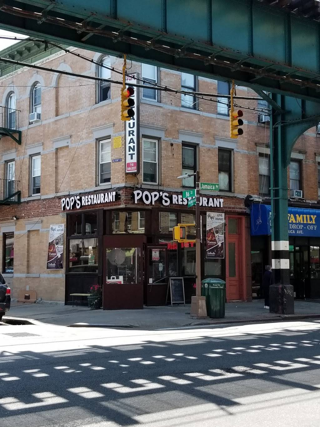 Pops Cocina & Bar   restaurant   8522 Jamaica Ave, Woodhaven, NY 11421, USA   7188462037 OR +1 718-846-2037