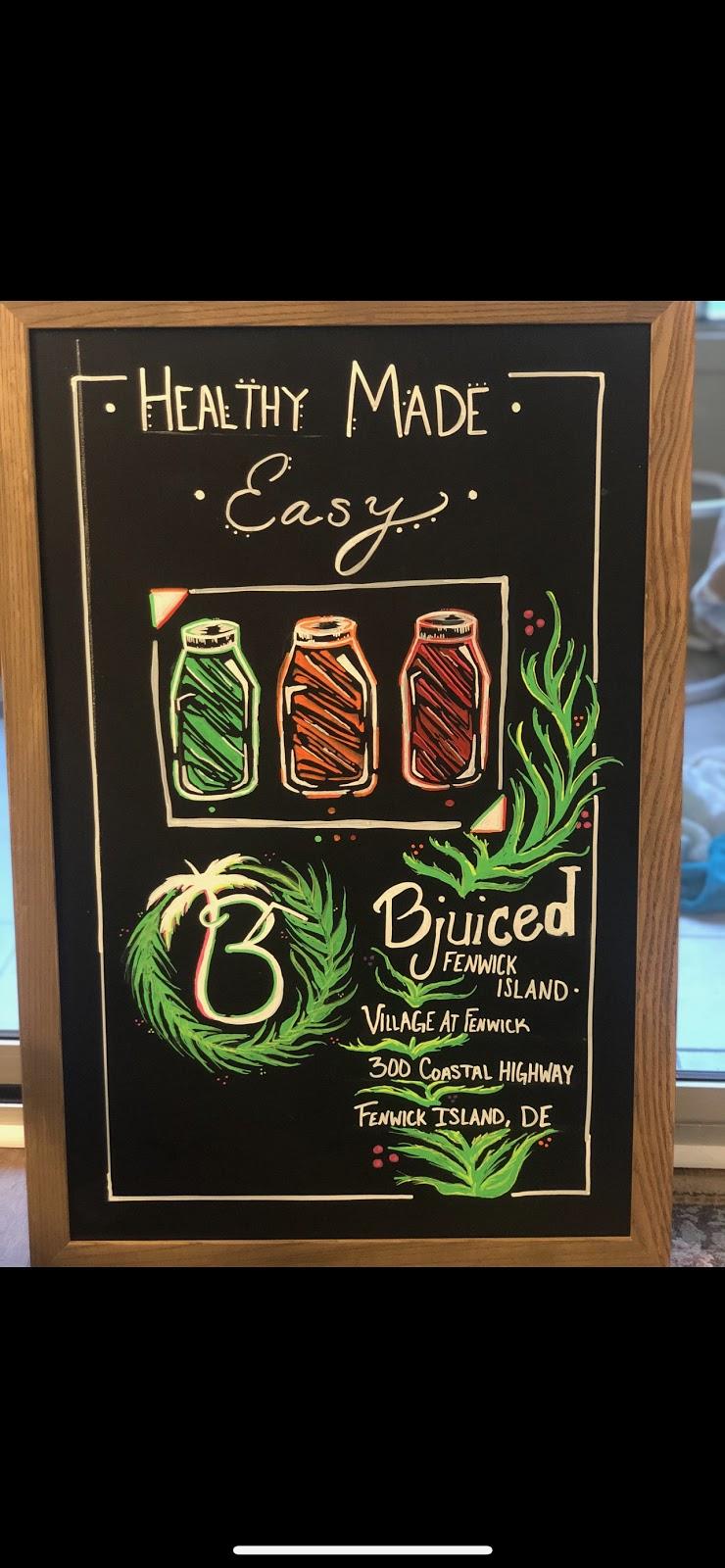 Bjuiced   restaurant   300 Coastal Hwy, Fenwick Island, DE 19944, USA   3022173177 OR +1 302-217-3177