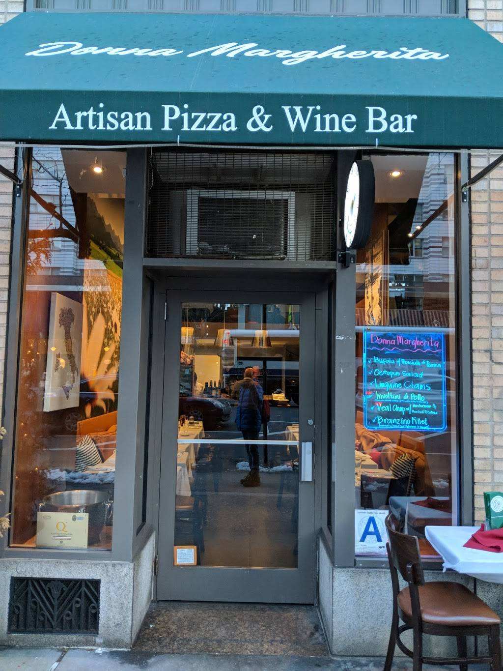 Donna Margherita | restaurant | 1304A 2nd Ave, New York, NY 10065, USA | 2127721169 OR +1 212-772-1169