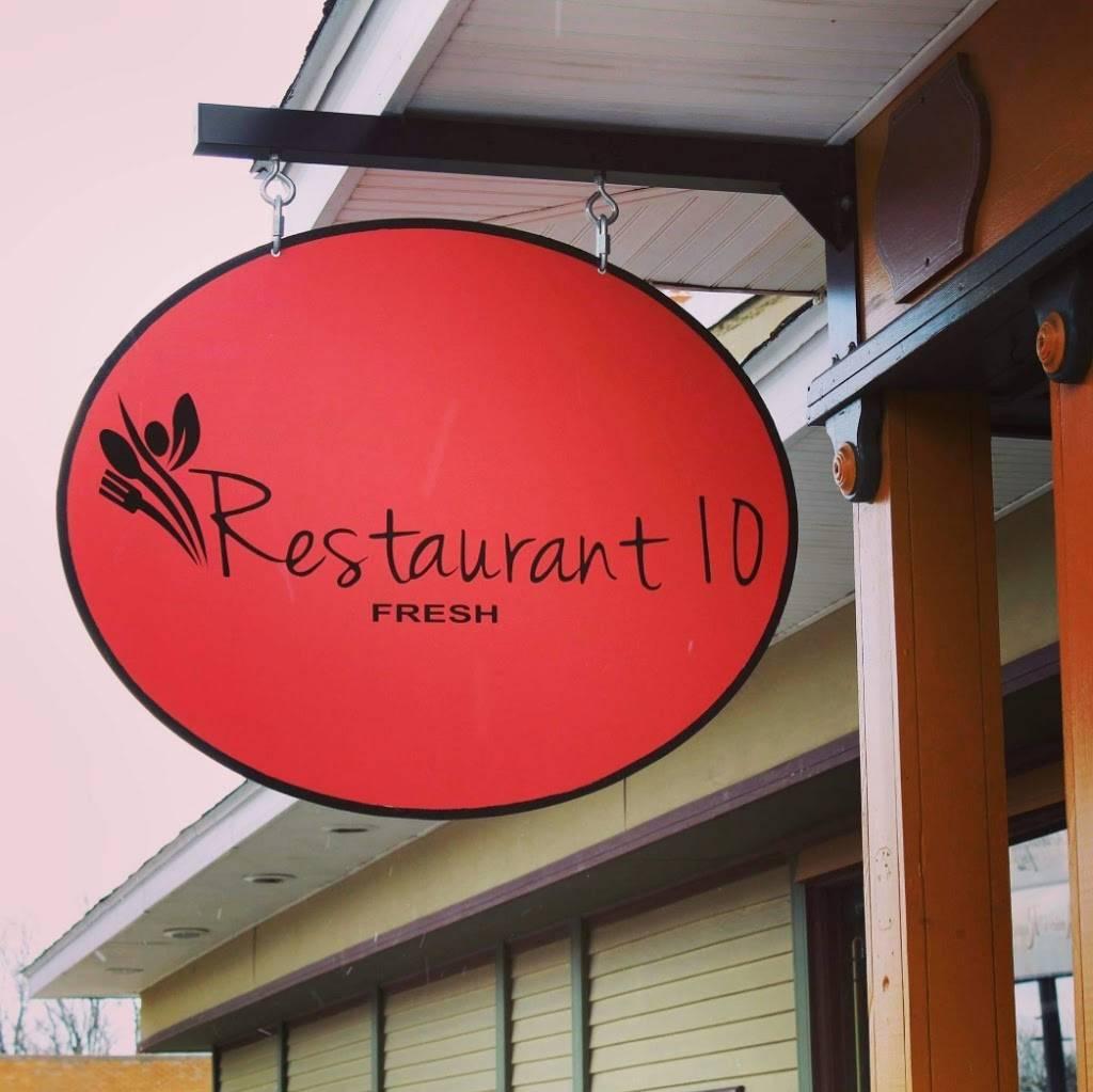Restaurant 10   restaurant   132 N Main St, Brooklyn, MI 49230, USA   5179388202 OR +1 517-938-8202