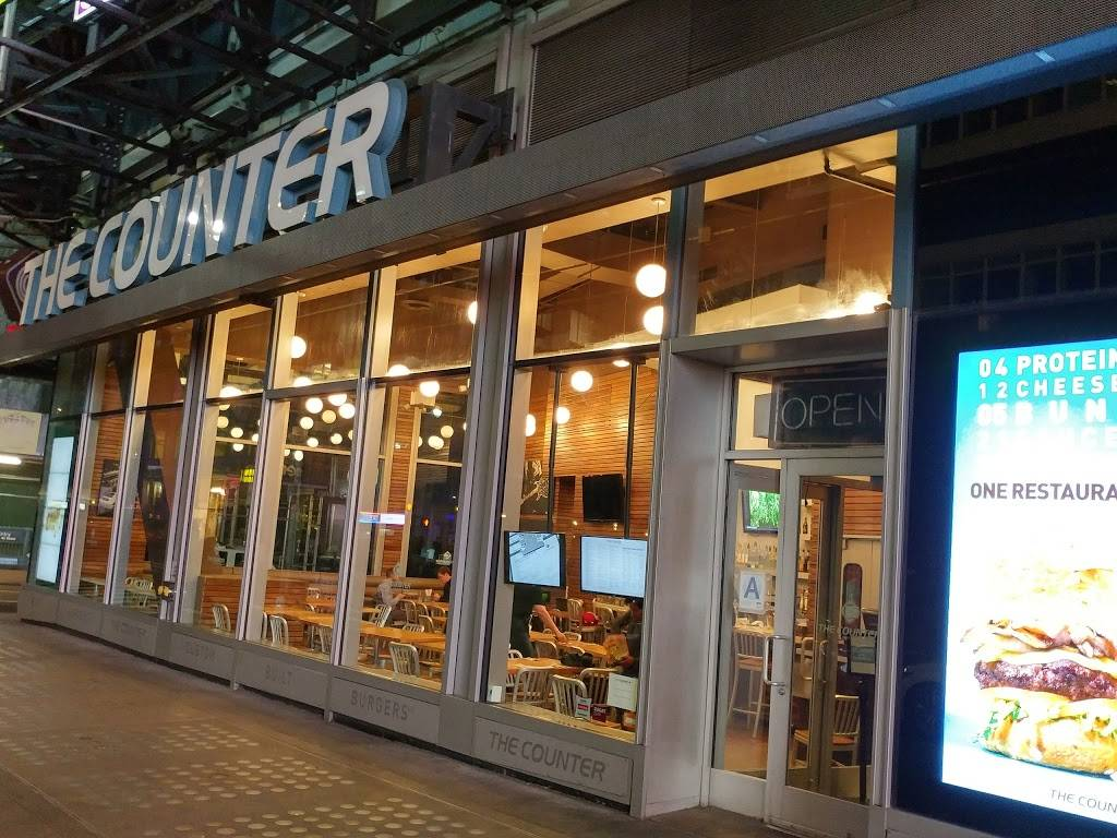 The Counter | restaurant | 7, Times Square Tower, New York, NY 10036, USA | 2129976801 OR +1 212-997-6801