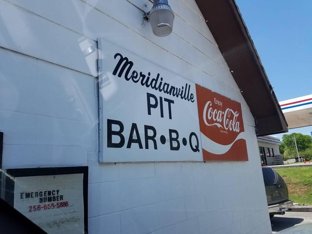 Meridianville Bar-B-Q | restaurant | 11537 US-231, Meridianville, AL 35759, USA | 2568283725 OR +1 256-828-3725