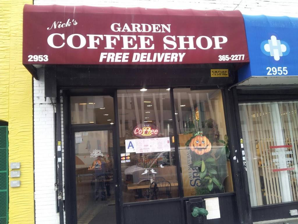 Garden Coffee Shop | cafe | 2955 Webster Ave, Bronx, NY 10458, USA | 7183652277 OR +1 718-365-2277