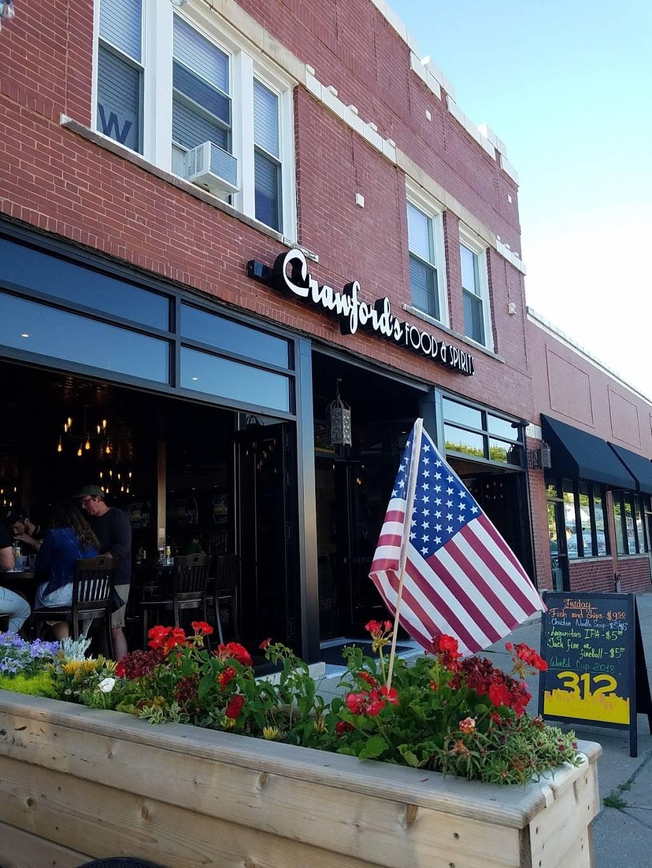Crawfords Food & Spirits   restaurant   3942 W School St, Chicago, IL 60618, USA   7738532961 OR +1 773-853-2961