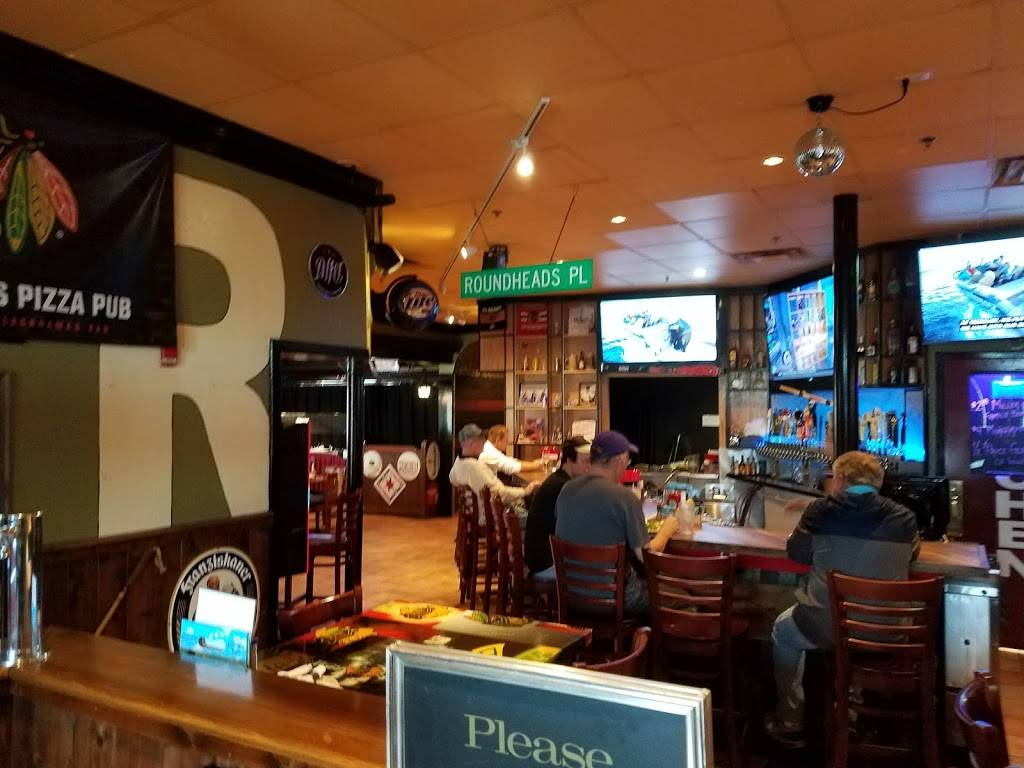 Roundheads Pizza Pub | meal takeaway | 500 75th St, Downers Grove, IL 60516, USA | 6304349999 OR +1 630-434-9999