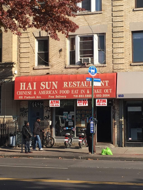 Hai Sun   restaurant   651 Flatbush Ave, Brooklyn, NY 11225, USA   7186935805 OR +1 718-693-5805