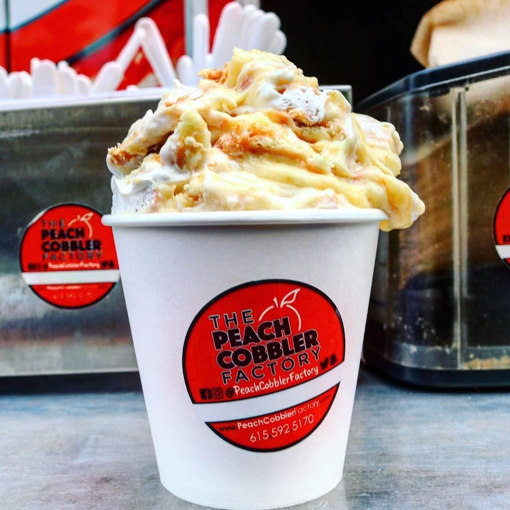 The Peach Cobbler Factory Dessert Lounge | bakery | 5814 Nolensville Pike Suite 106, Nashville, TN 37211, United States | 6155925170 OR +1 615-592-5170