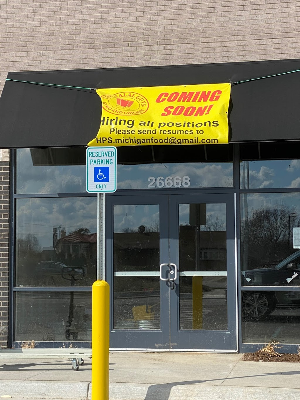 The Halal Guys Gyro and Chicken   restaurant   26668 Ford Rd, Dearborn Heights, MI 48127, USA