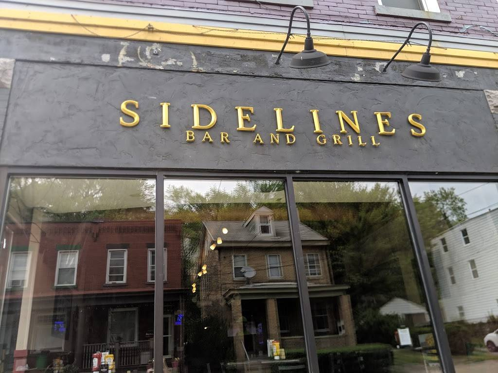 Sidelines Bar & Grill | restaurant | 621 Evergreen Rd, Pittsburgh, PA 15209, USA | 4128214492 OR +1 412-821-4492