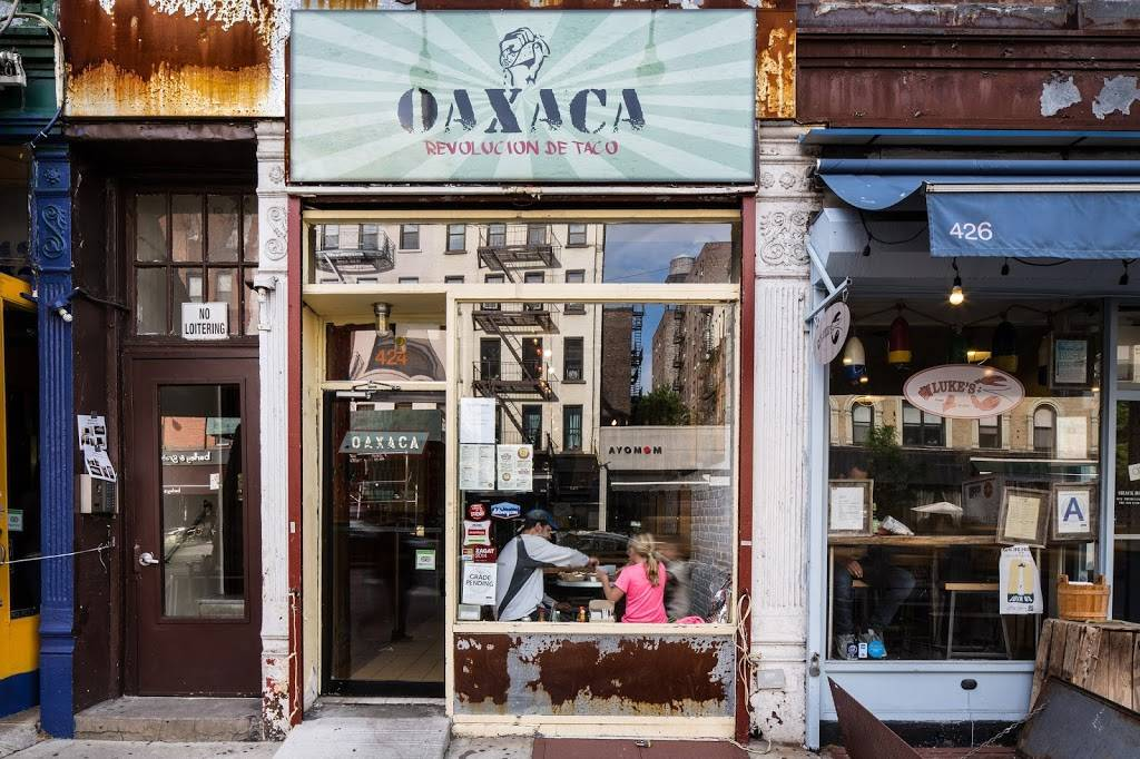 Oaxaca Taqueria | restaurant | 424 Amsterdam Ave, New York, NY 10024, USA | 2125804888 OR +1 212-580-4888