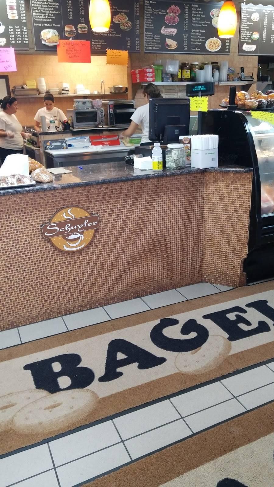 Schuyler Bagels | restaurant | 170 Schuyler Ave, North Arlington, NJ 07031, USA | 2019910017 OR +1 201-991-0017