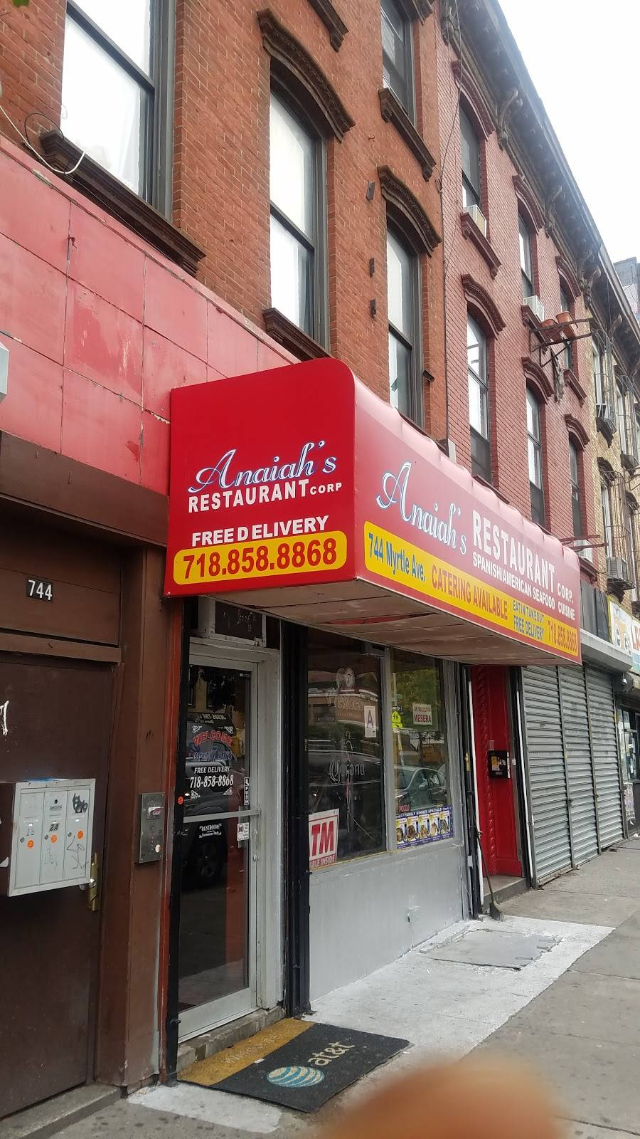 Anaiah | restaurant | 744 Myrtle Ave, Brooklyn, NY 11205, USA | 7188588868 OR +1 718-858-8868