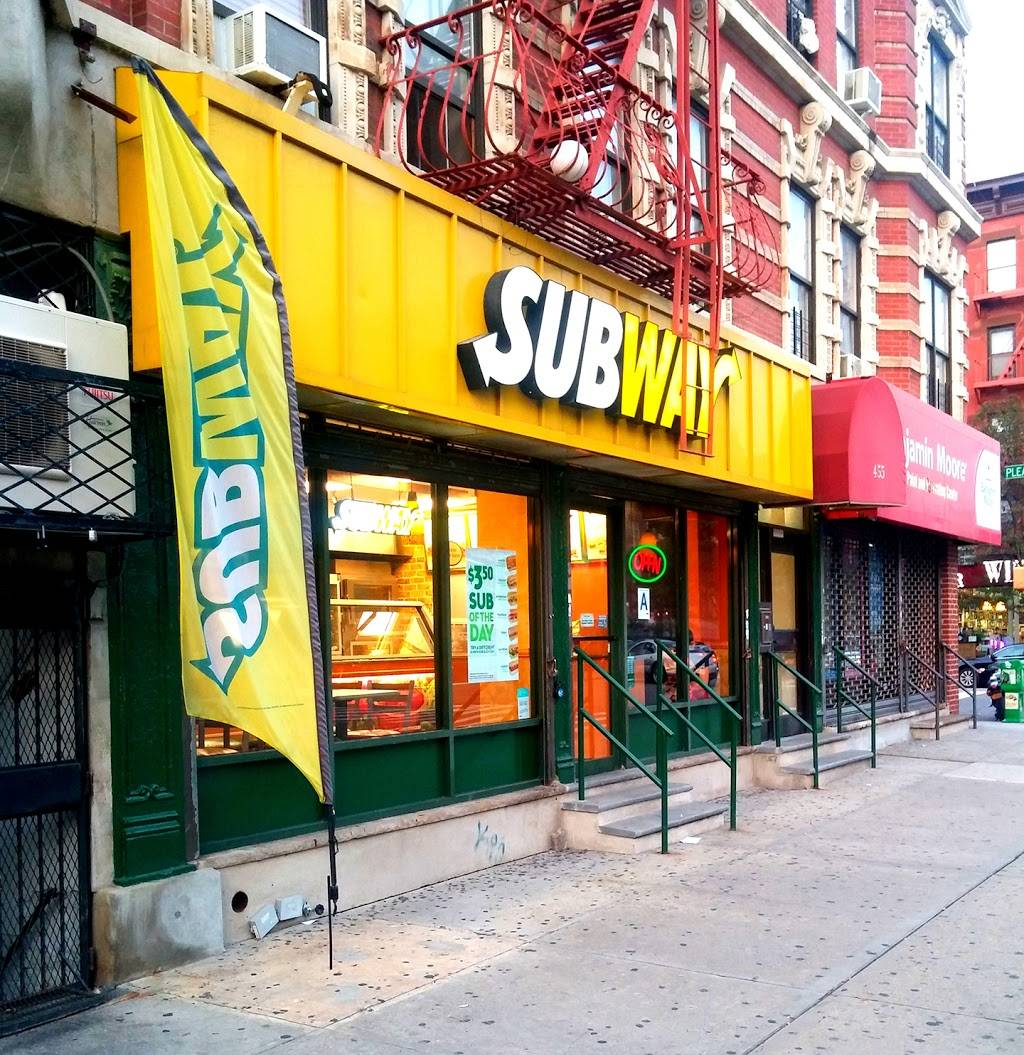 Subway Restaurants | restaurant | 455 E 116th St, New York, NY 10029, USA | 2123607576 OR +1 212-360-7576