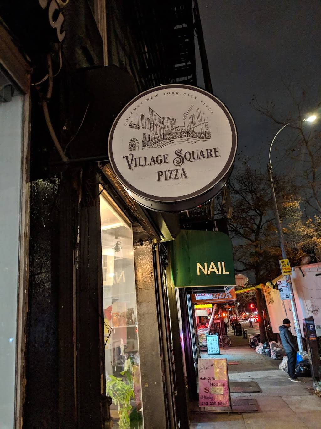 Village Square Pizza | restaurant | 147 Avenue A, New York, NY 10009, USA