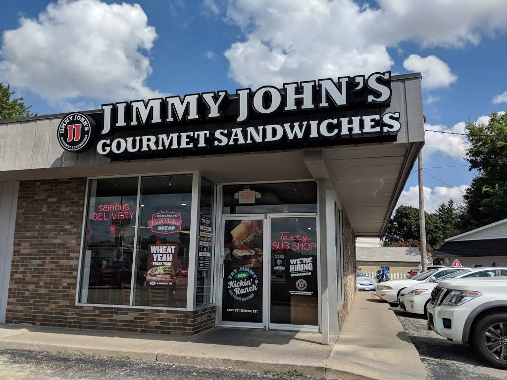 Jimmy Johns   meal delivery   15 E Jackson St, Morton, IL 61550, USA   3092910000 OR +1 309-291-0000
