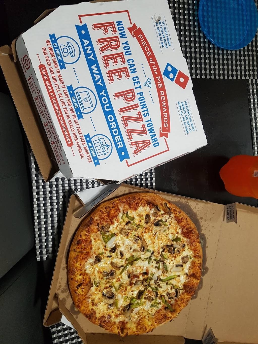 Dominos Pizza | meal delivery | 284 Valley Blvd, Wood-Ridge, NJ 07075, USA | 2018048181 OR +1 201-804-8181