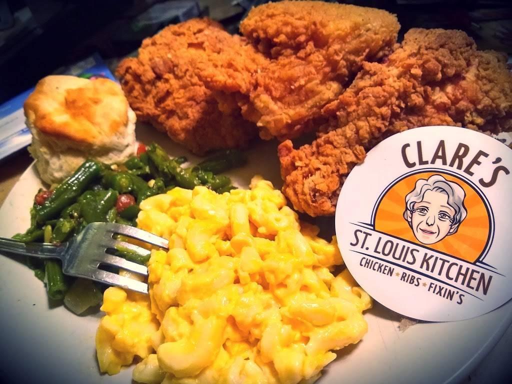 Clares St. Louis Kitchen   restaurant   885 Starkweather St, Plymouth, MI 48170, USA   7345195358 OR +1 734-519-5358