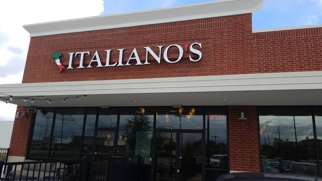 Image result for italianos pearland log""