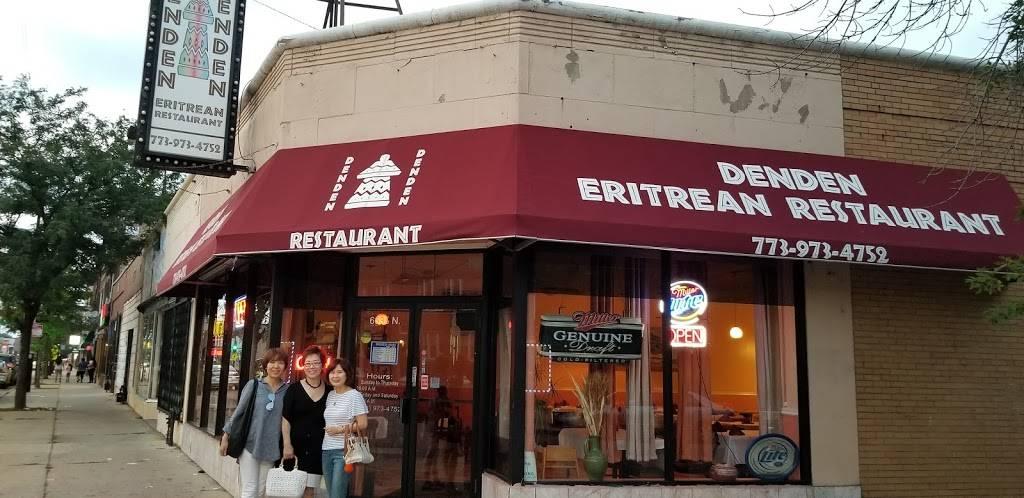 Denden Restaurant   restaurant   6635 N Clark St, Chicago, IL 60626, USA   7739734752 OR +1 773-973-4752