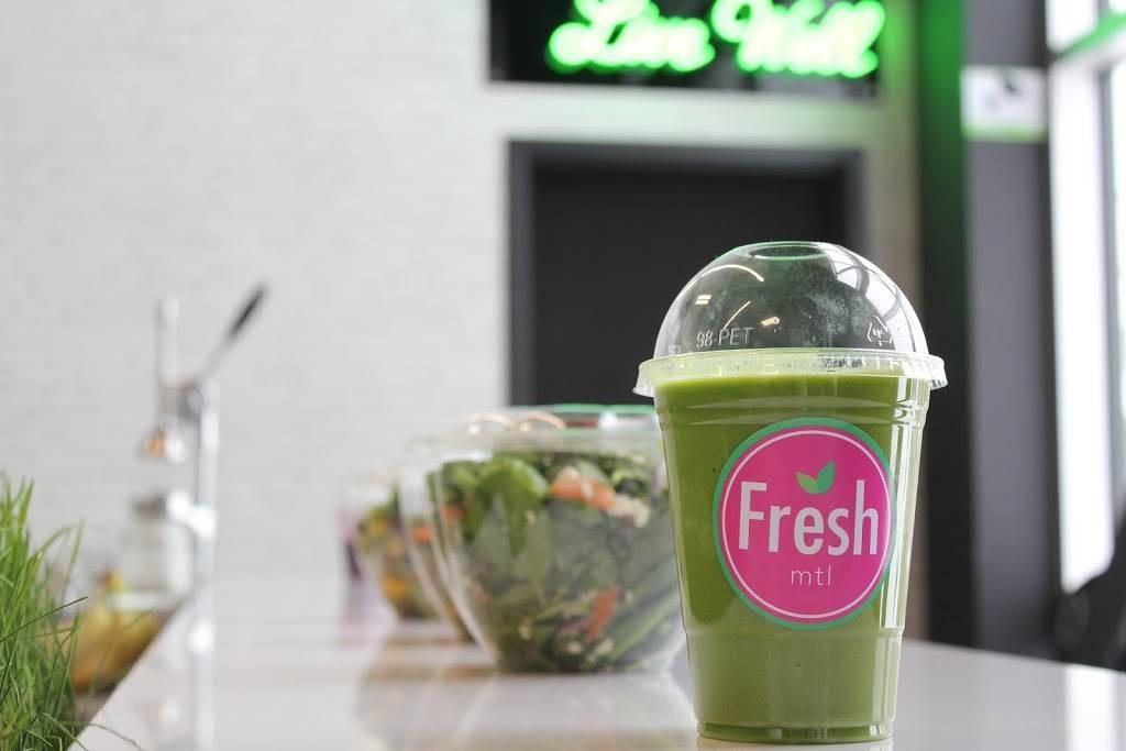 Fresh MTL Bistro Santé Laval (Golds Laval)   restaurant   1164 Rue Desserte O, Laval, QC H7X 4C9, Canada   5145025776 OR +1 514-502-5776