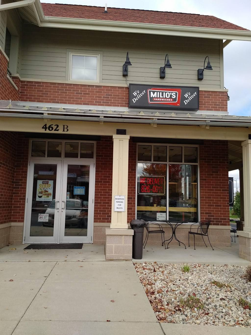 Milios Sandwiches | meal delivery | 5169, 462 Commerce Dr, Madison, WI 53719, USA | 6088260011 OR +1 608-826-0011