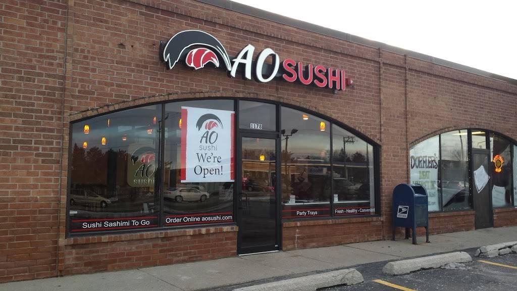 AO Sushi | restaurant | 1178 McHenry Rd, Buffalo Grove, IL 60089, USA | 8473533333 OR +1 847-353-3333